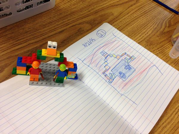 Lego Bridge sketch